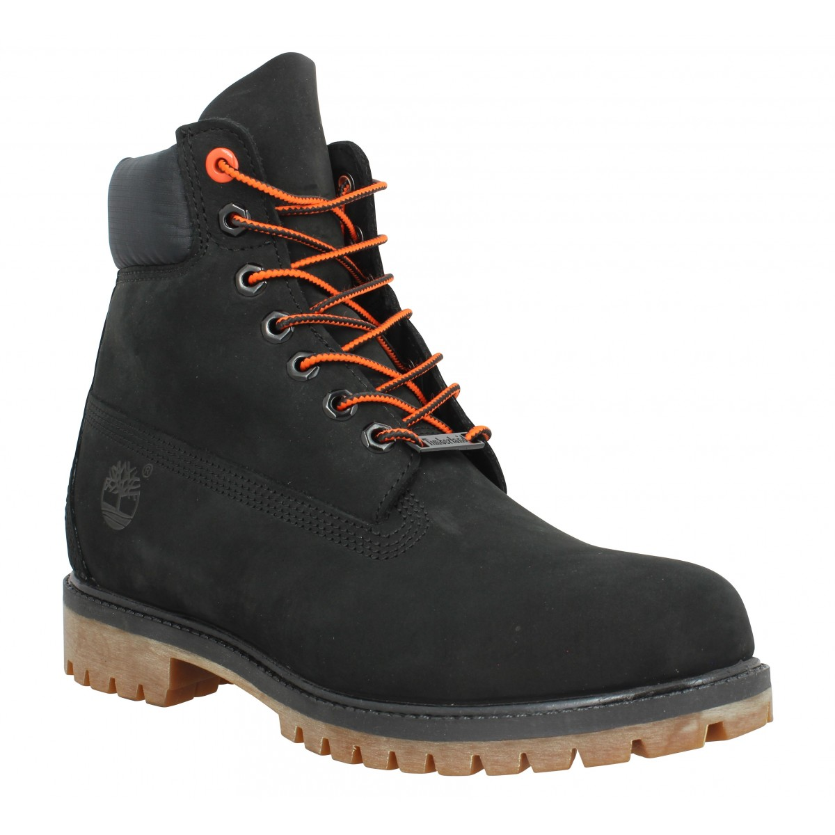 Bottines TIMBERLAND 6in Premium WP velours Homme Noir