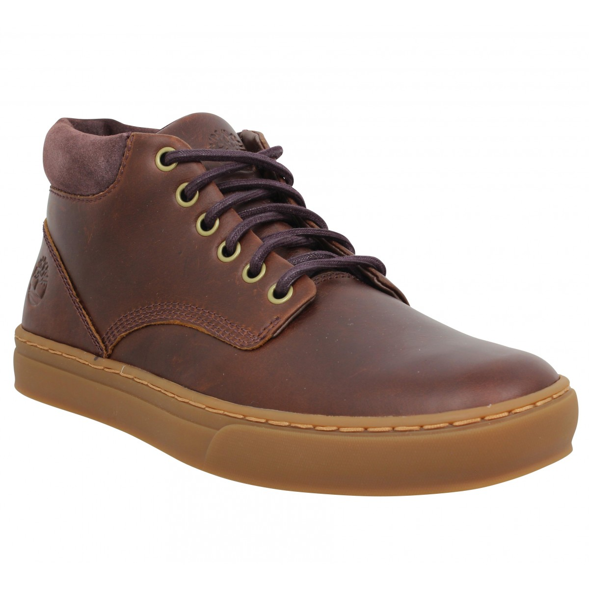 basket cuir homme timberland