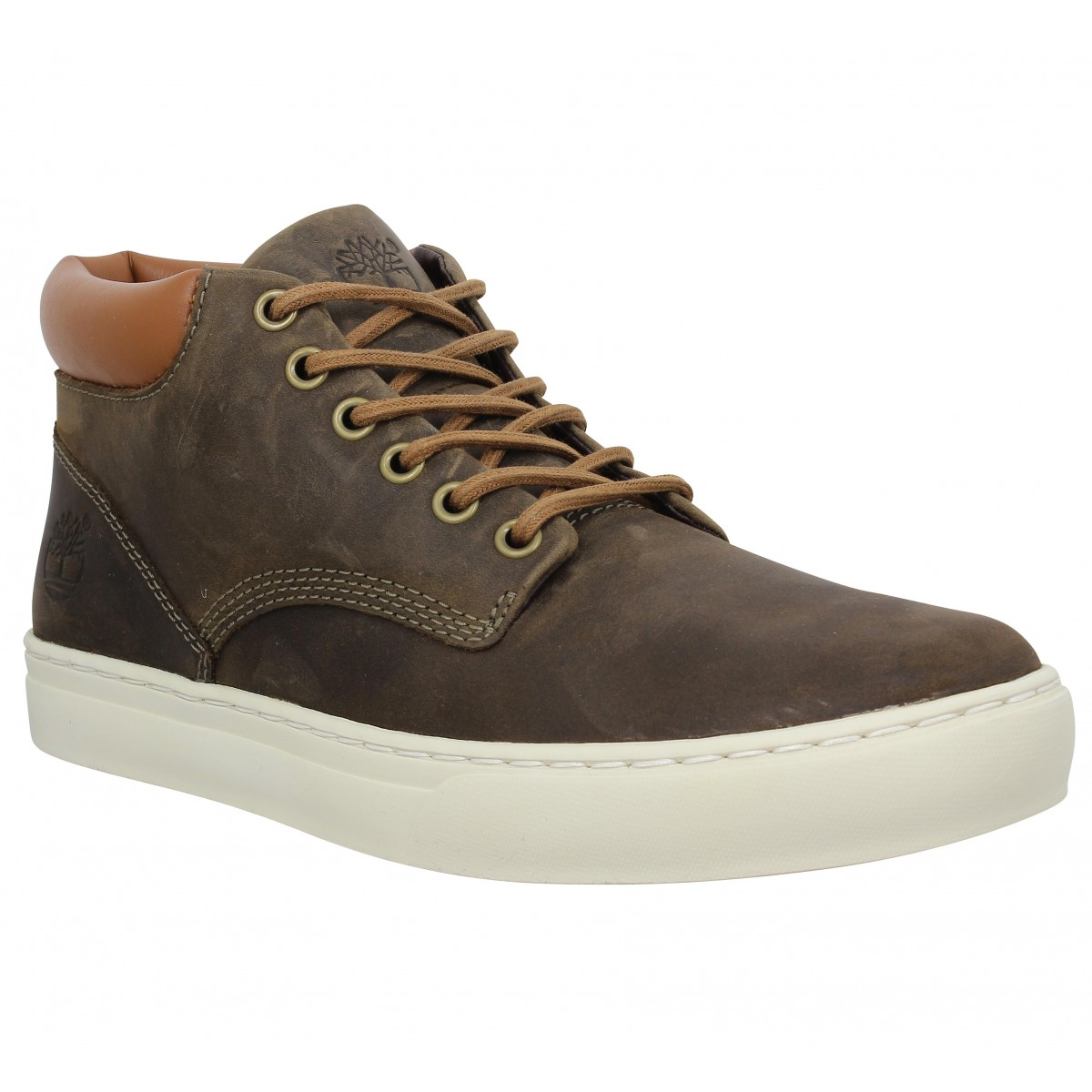 Baskets TIMBERLAND Adventure 2.0 Cupsole Chukka cuir Homme Olive