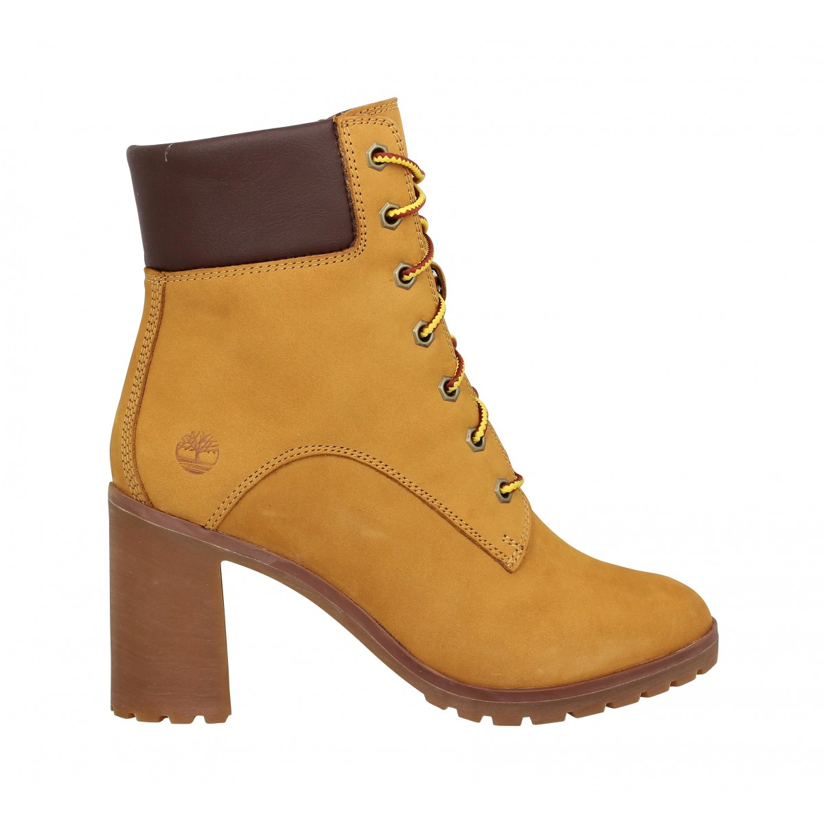 Timberland allington 6in lace up velours femme ocre femme   Fanny ... 75113b8cbb30