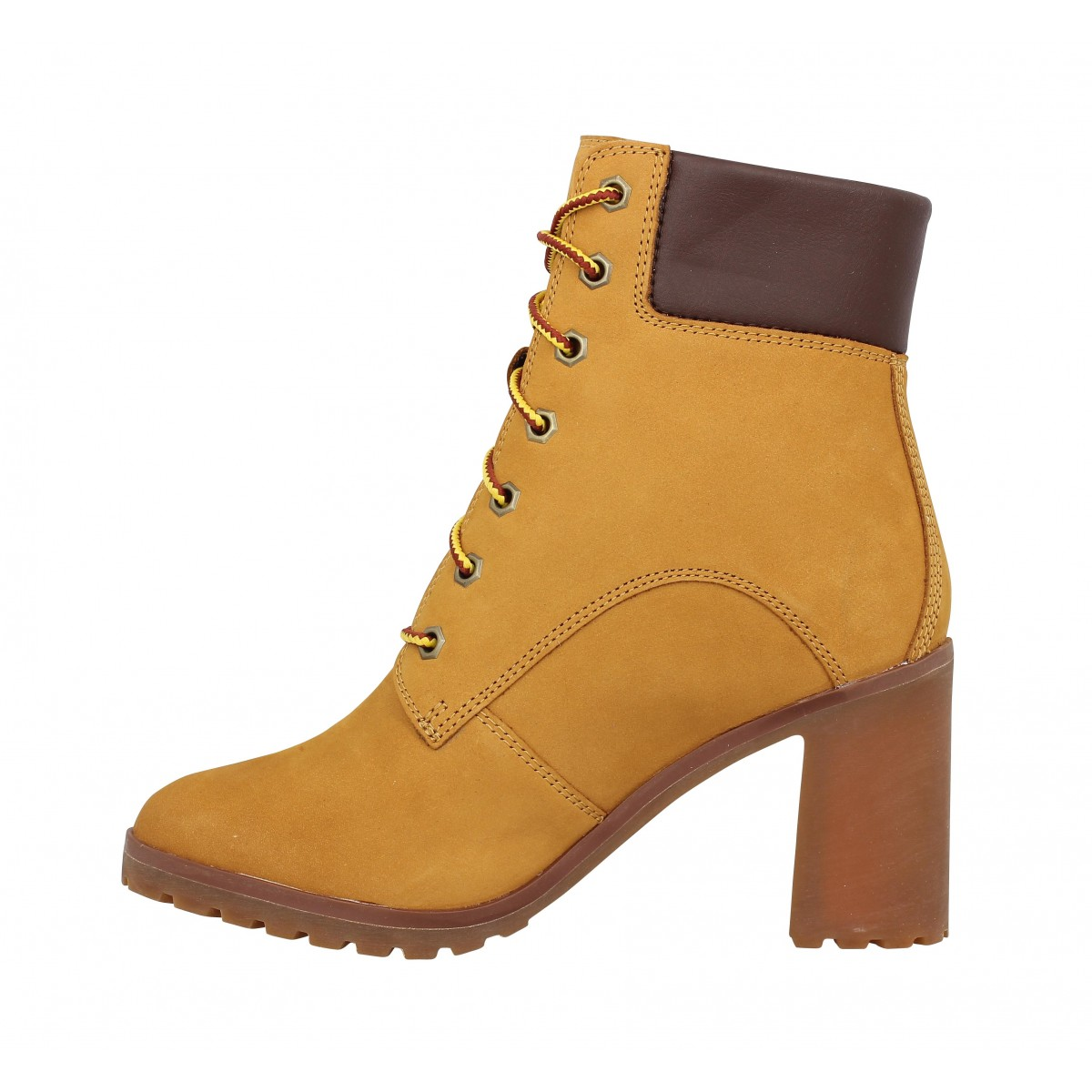 TIMBERLAND Allington 6in Lace Up velours Femme Ocre