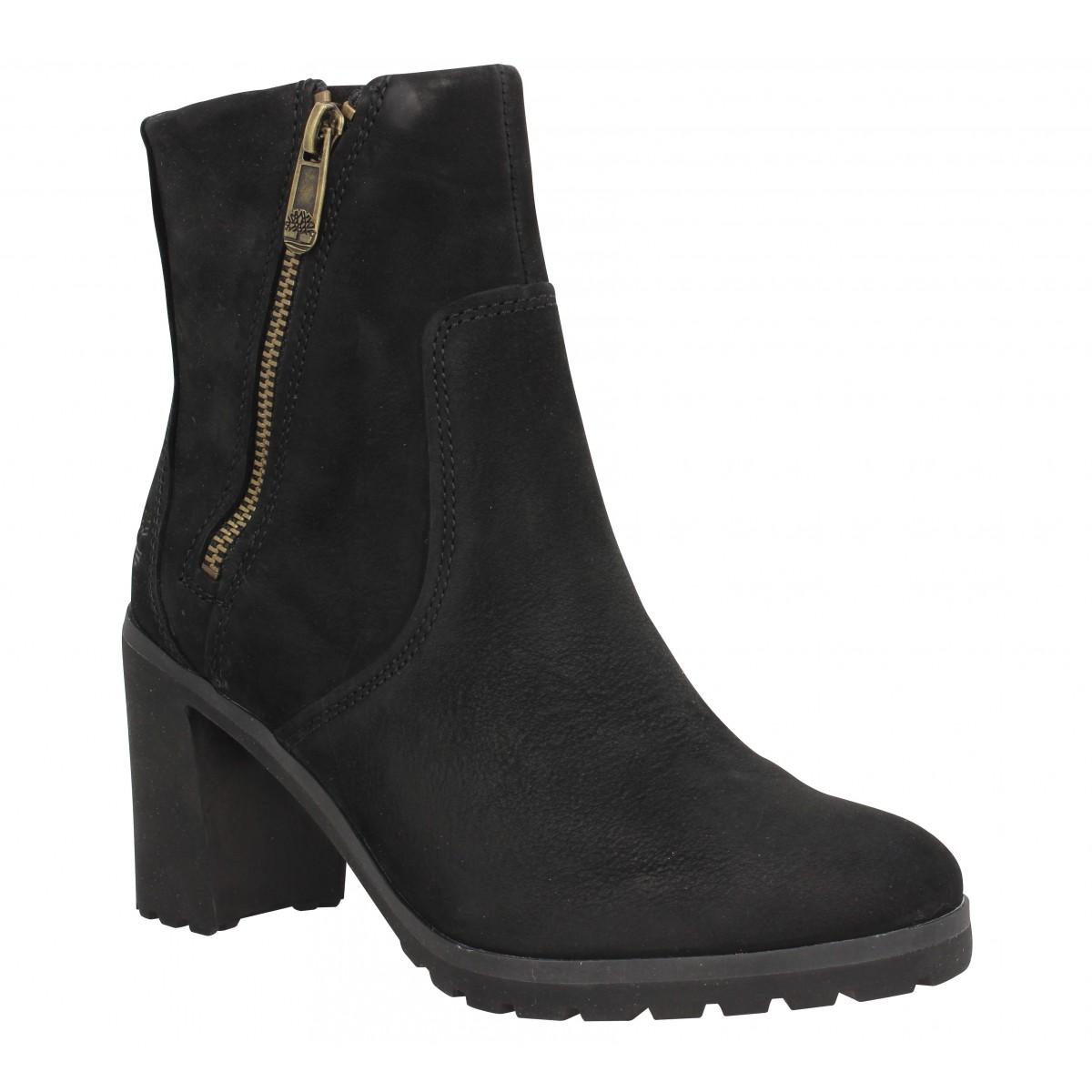 Bottines TIMBERLAND Allington Ankle Boot velours Femme Noir