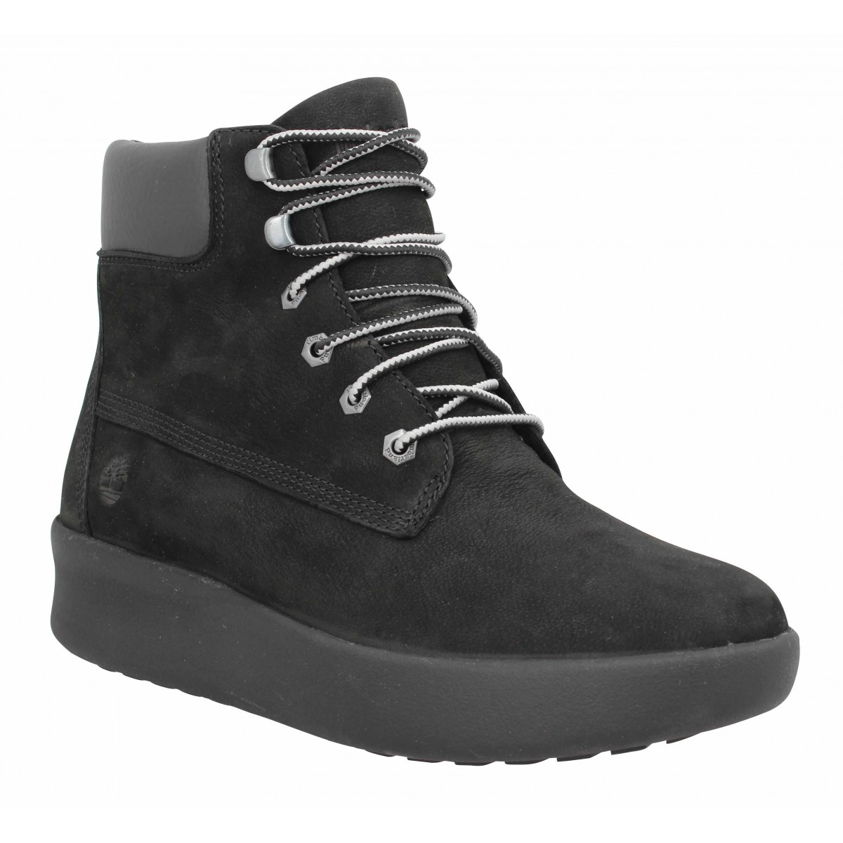 Bottines TIMBERLAND Berlin Park 6in velours Femme Noir