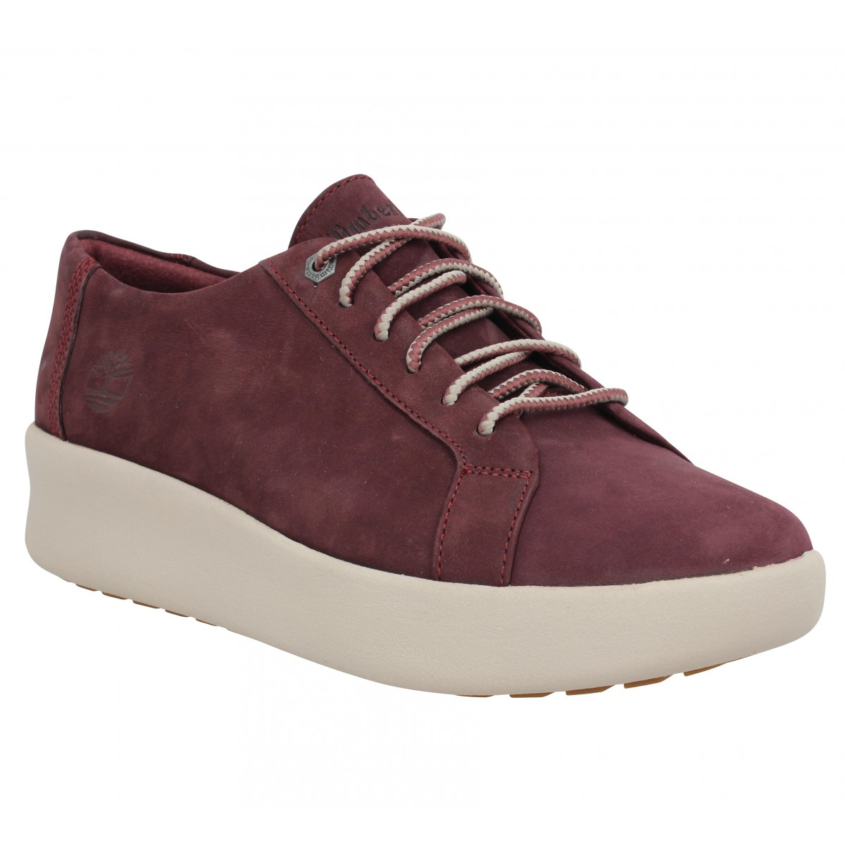 Baskets TIMBERLAND Berlin Park Oxford velours Femme Violet