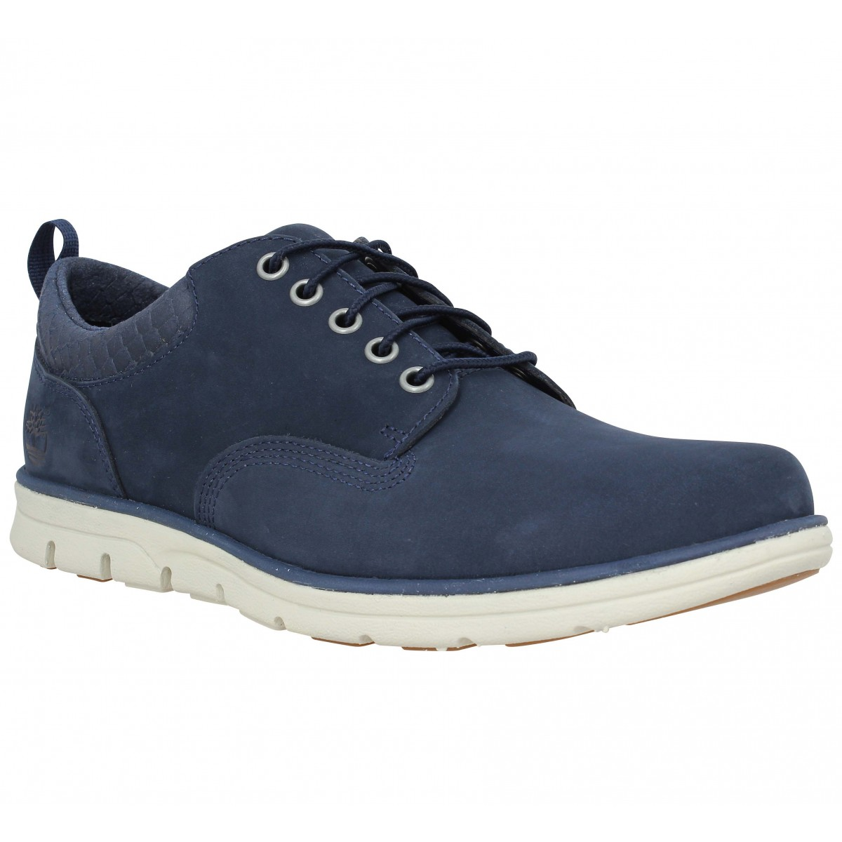 Baskets TIMBERLAND Bradstreet 5 eye Oxford velours Homme Navy