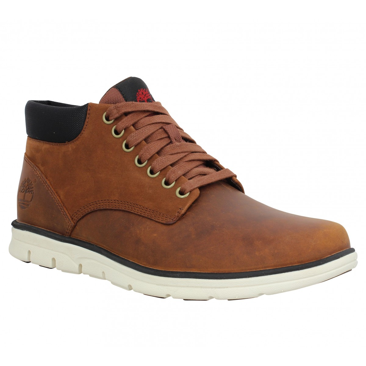 Bottines TIMBERLAND Chukka cuir Marron