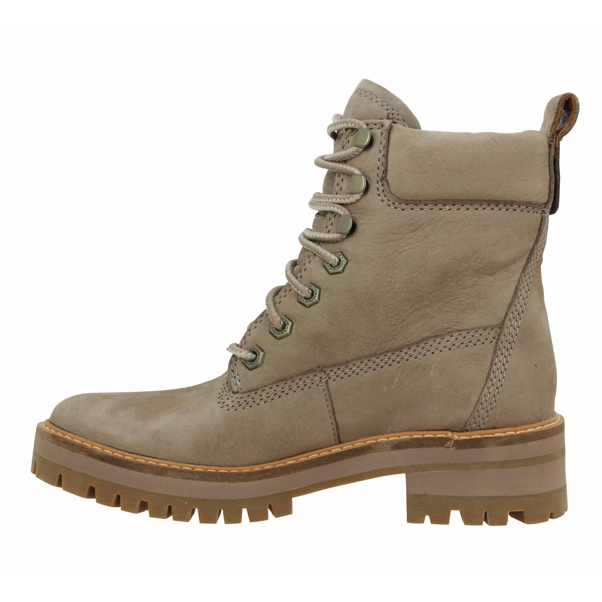 Timberland courmayeur valley velours femme taupe femme   Fanny ... 97dd38122b67
