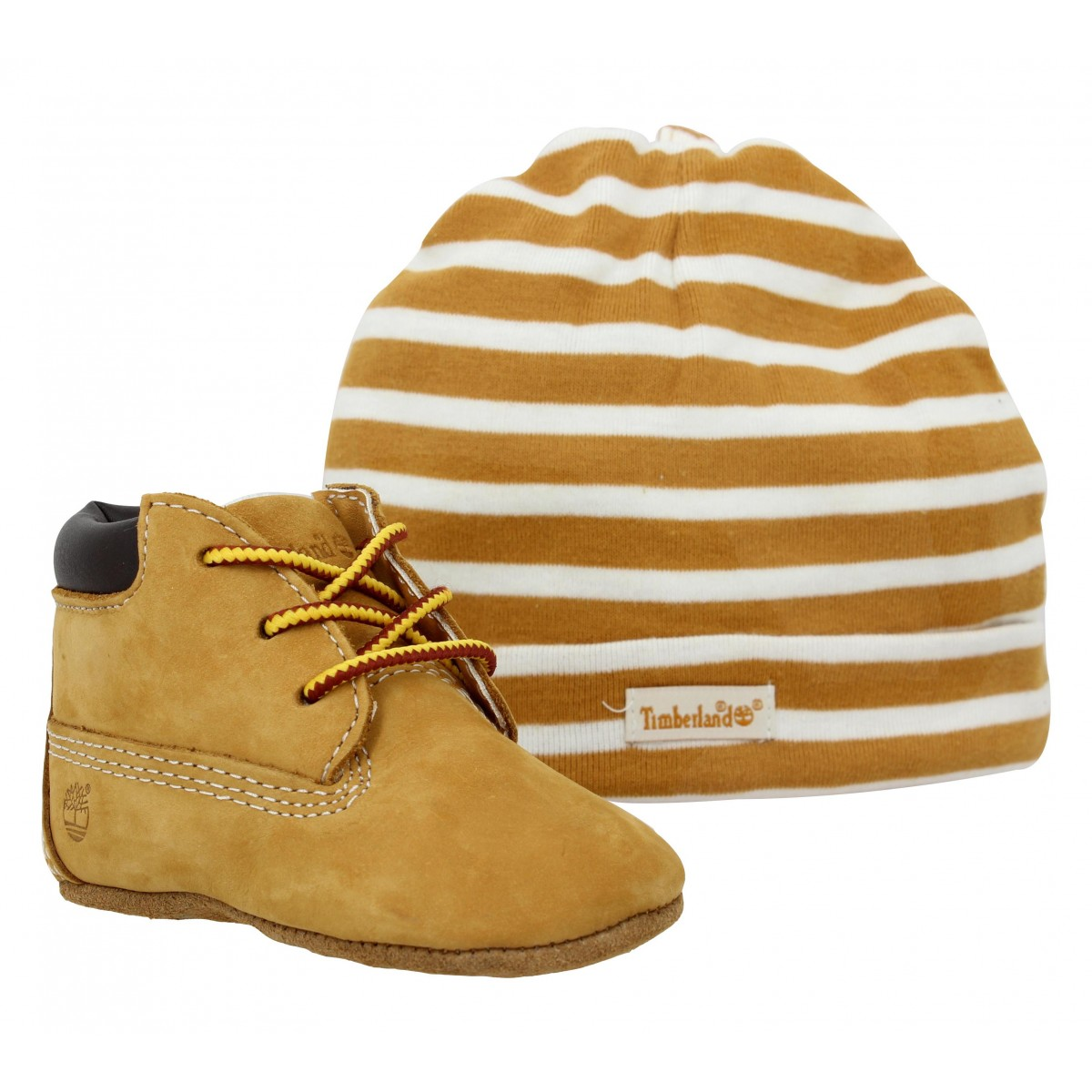 Bottines TIMBERLAND Crib Bootie velours Enfant Ocre