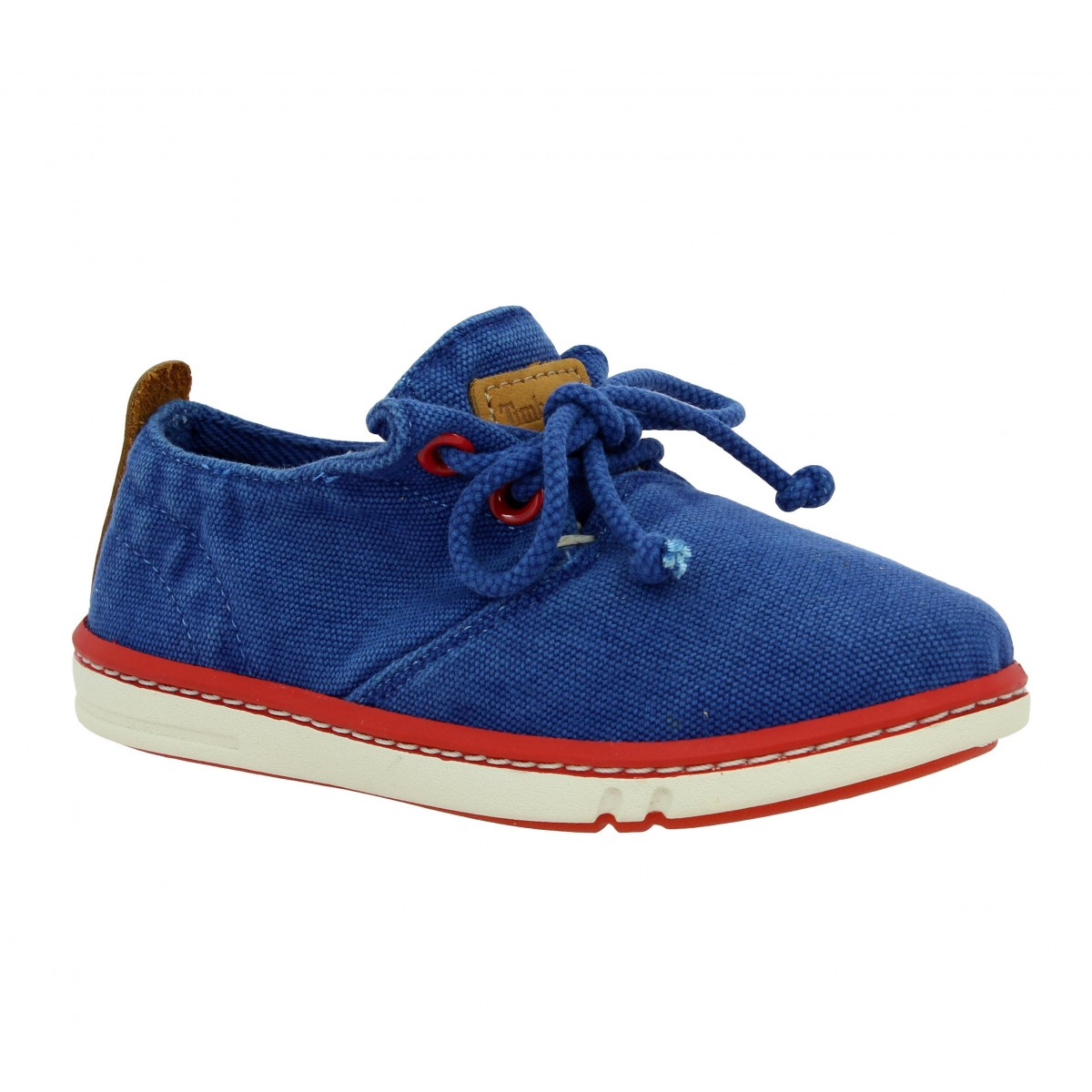 Baskets TIMBERLAND Earthkeepers Hookset Handcrafted Oxford toile Enfant Bleu