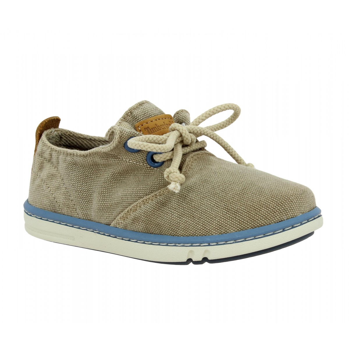 Baskets TIMBERLAND Earthkeepers Hookset Handcrafted Oxford toile Enfant Tan