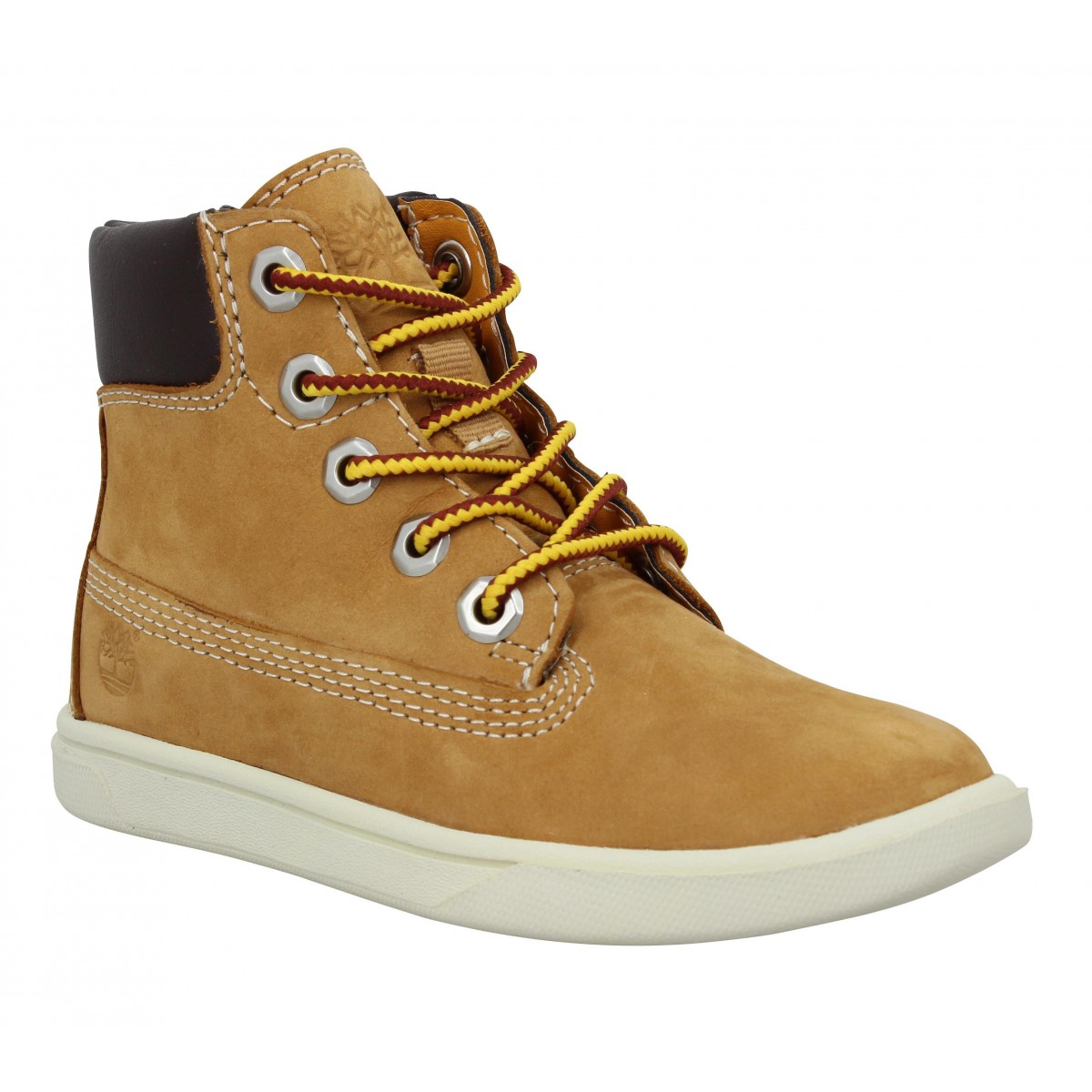 Baskets TIMBERLAND EK 2.0 6in Lace Zip velours Enfant Ocre