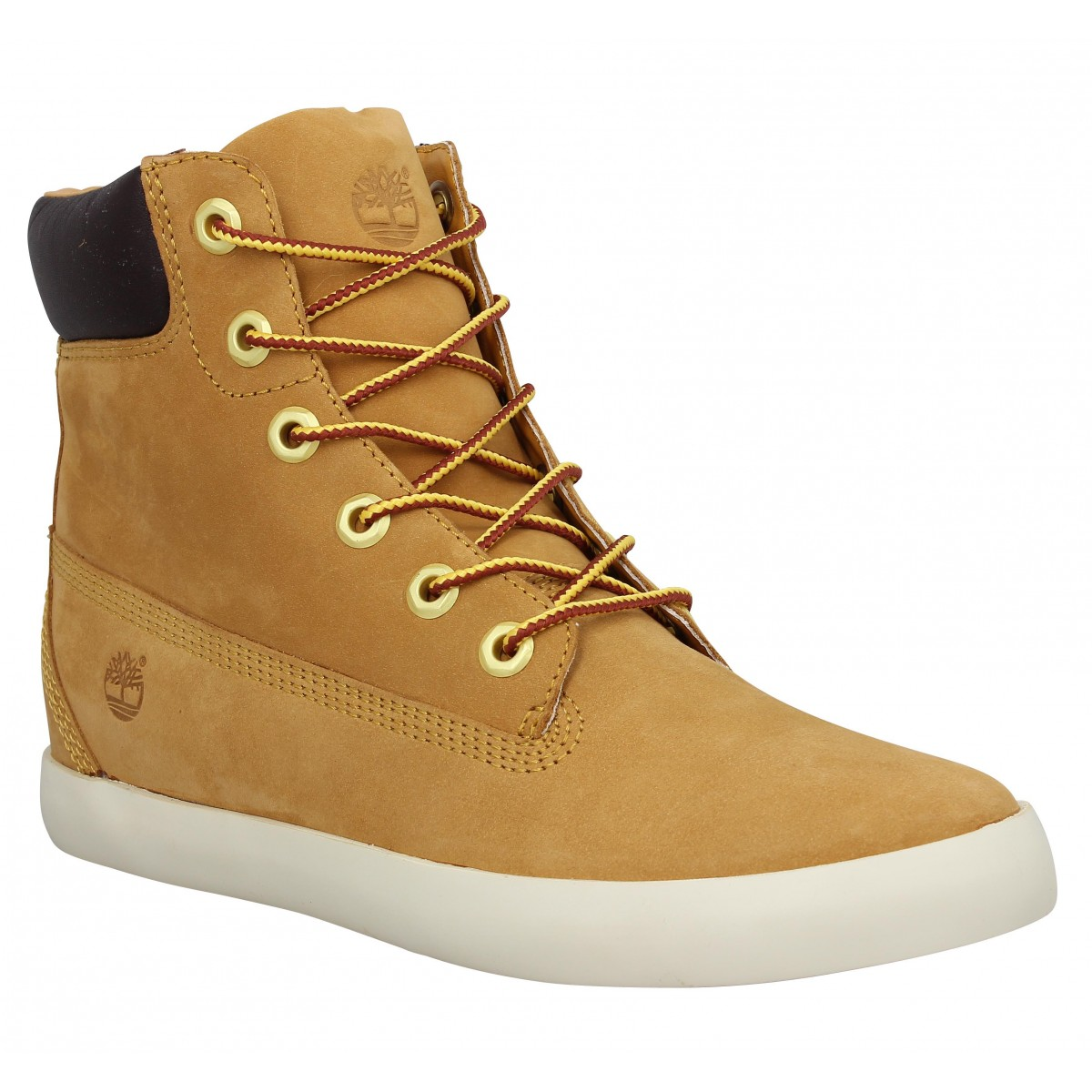 Bottines TIMBERLAND EK Glastenbury 6in Femme Ocre