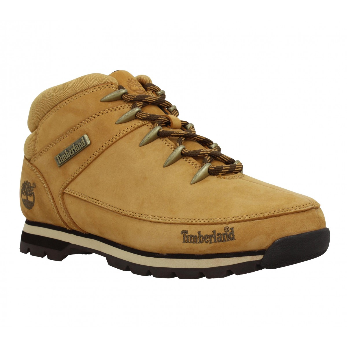 Bottines TIMBERLAND Euro Sprint velours Homme Ocre