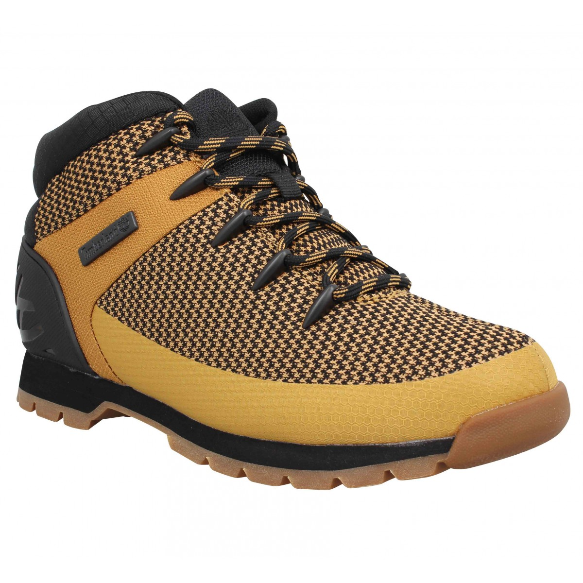 Baskets TIMBERLAND Euro Sprint textile Homme Ocre