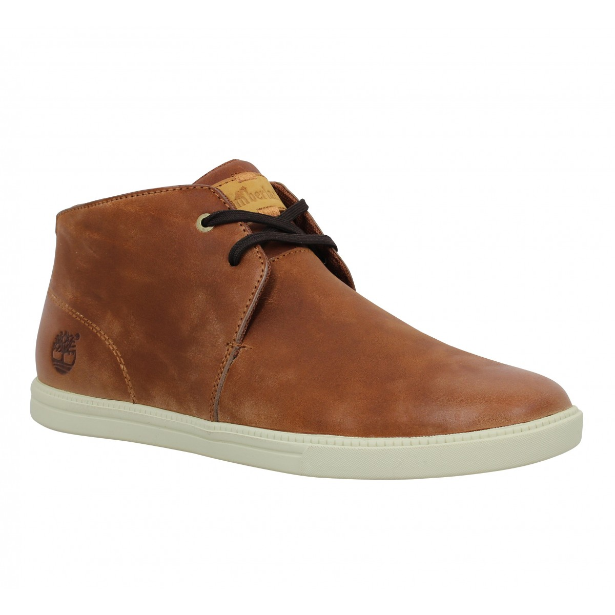 Baskets TIMBERLAND Fulk LP Mid cuir Homme Cuivre