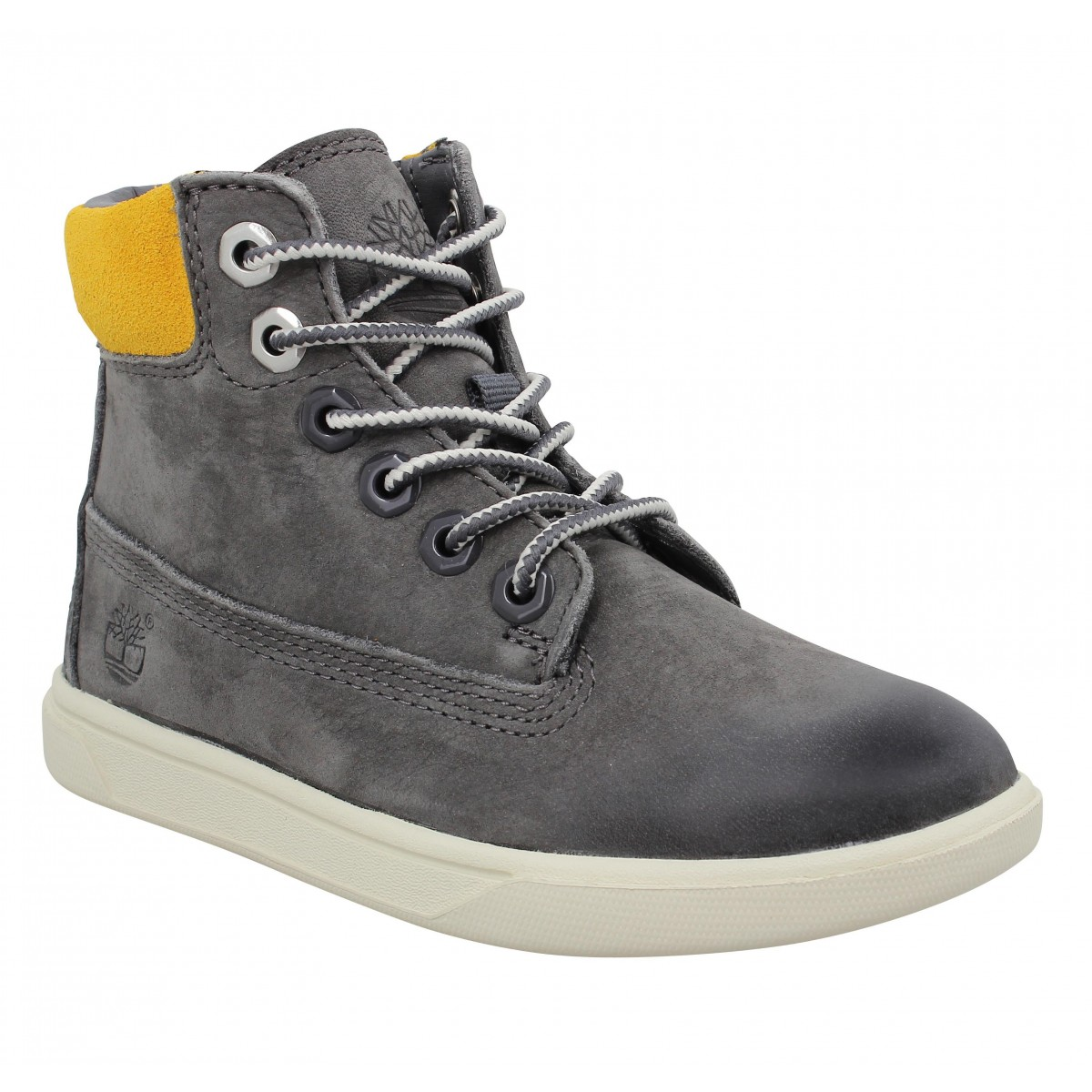 Baskets TIMBERLAND Groveton 6in Lace Enfant Anthracite