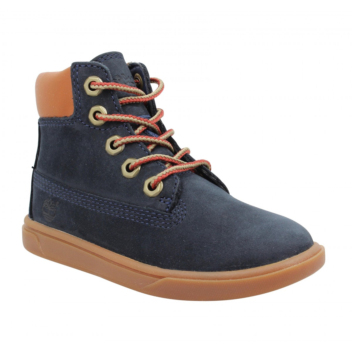 Baskets TIMBERLAND Groveton 6in Lace nubuck Enfant Blue