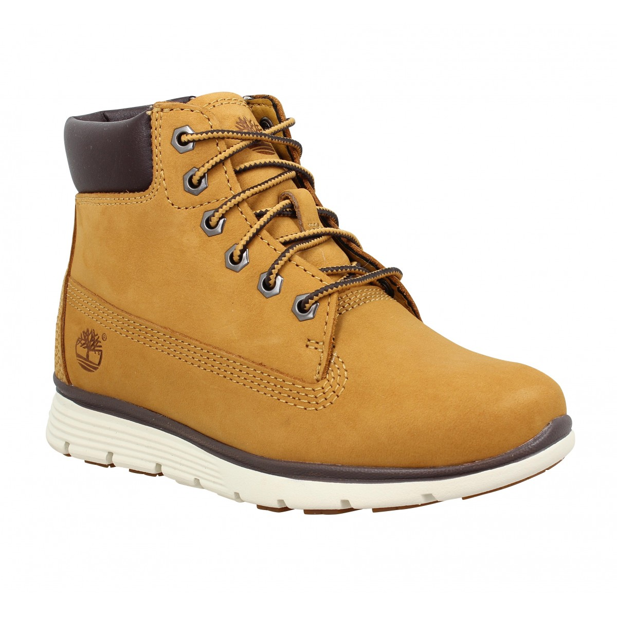 Baskets TIMBERLAND Killington 6in nubuck Enfant Ocre