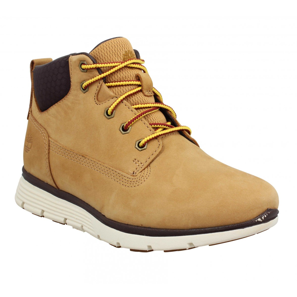 Bottines TIMBERLAND Killington Chukka nubuck Enfant Ocre