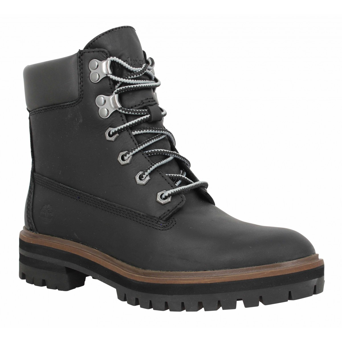 Bottines TIMBERLAND London Square 6in cuir Femme Noir