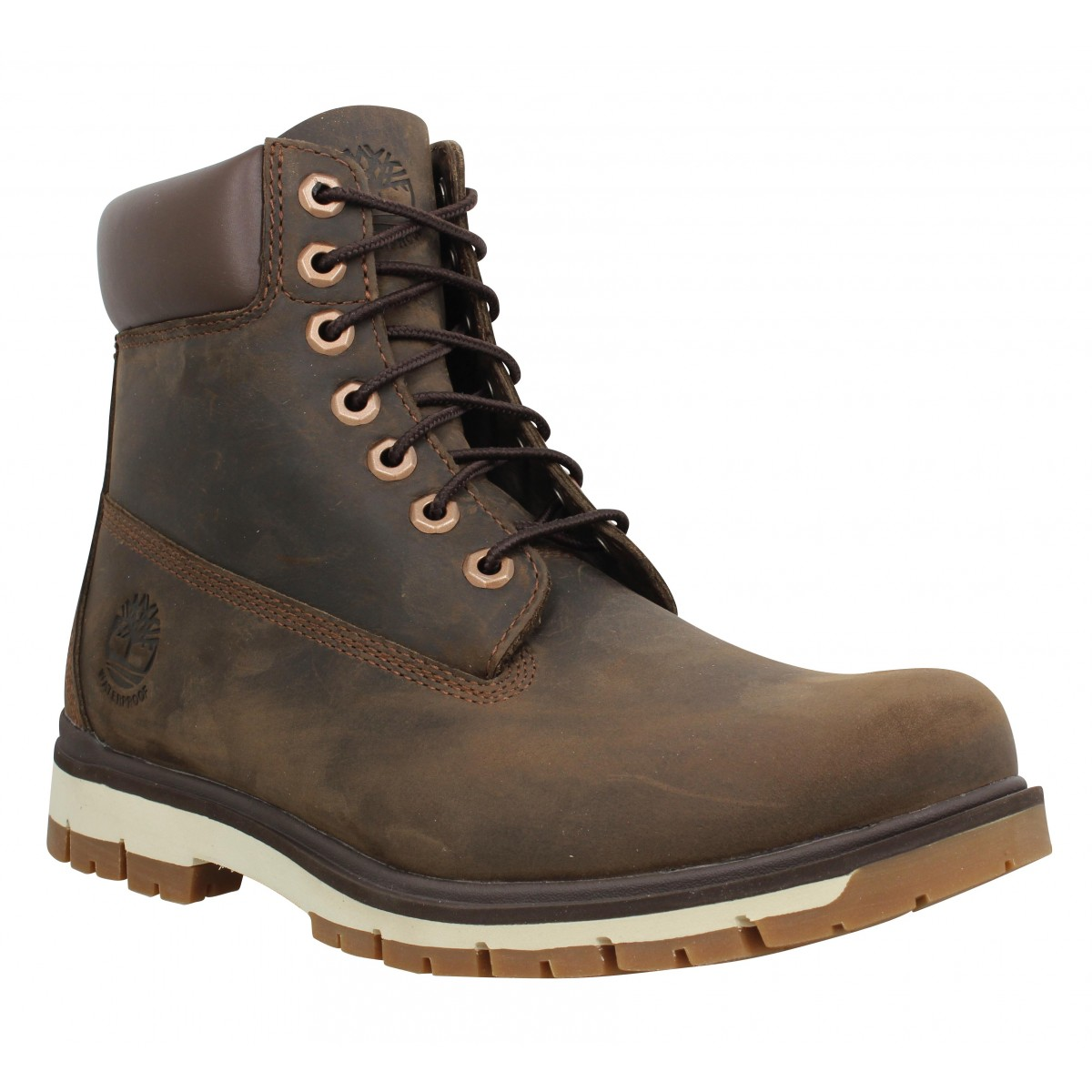 Bottines TIMBERLAND Radford 6 Boot WP cuir Homme Marron
