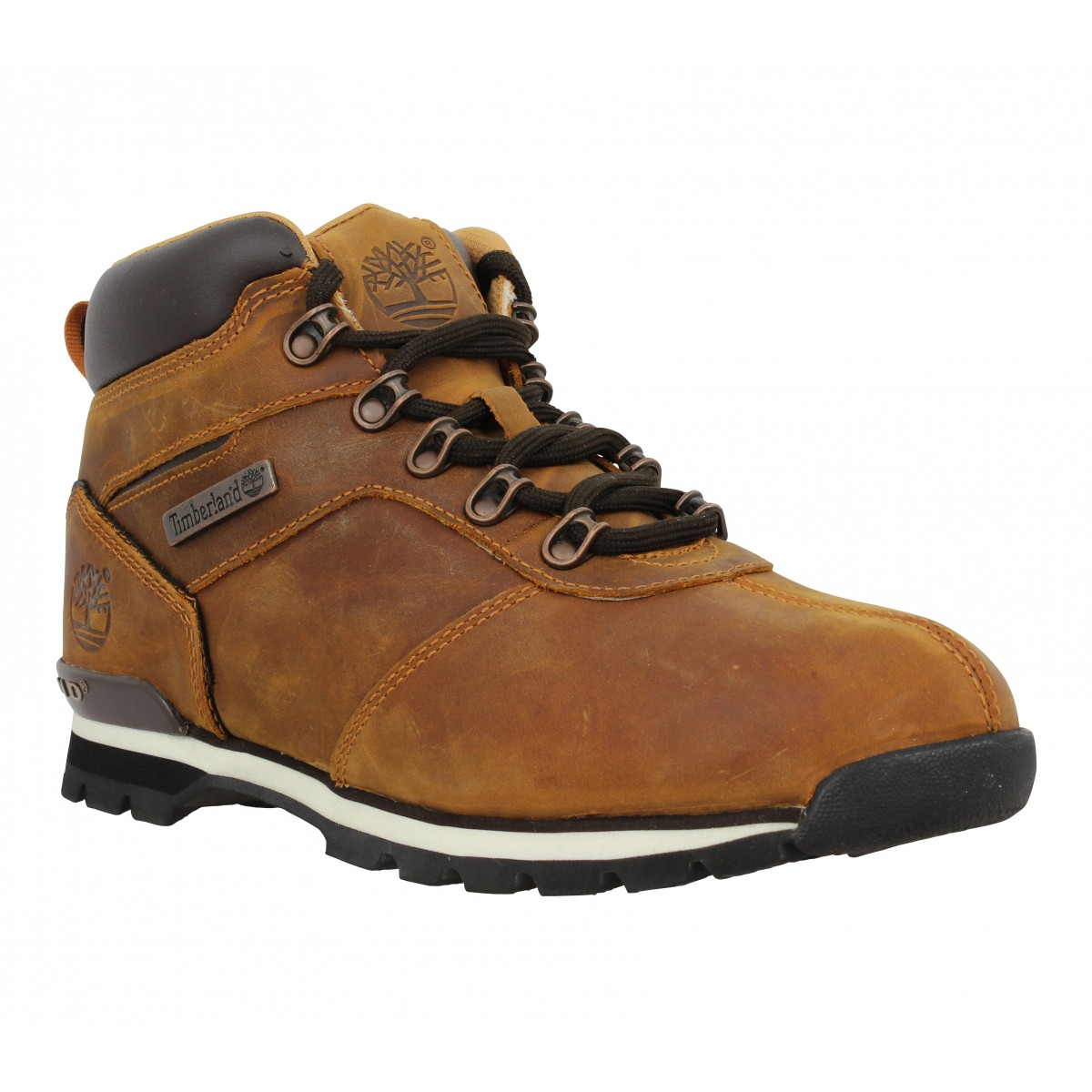 Bottines TIMBERLAND Splitrock 2 Hiker cuir gras Homme Marron