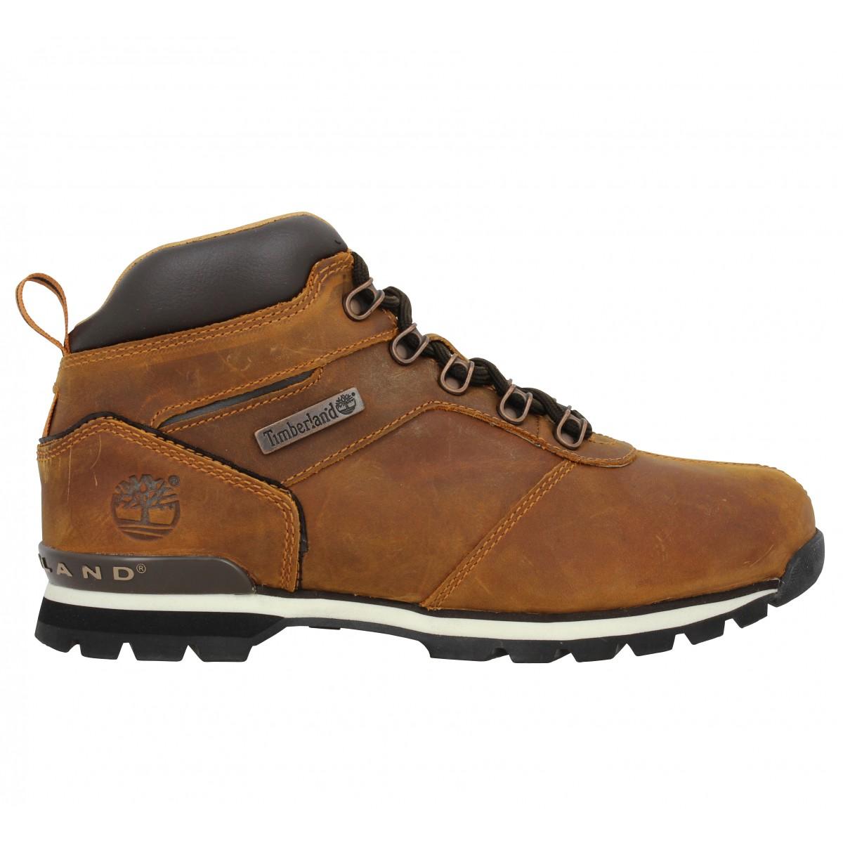 timberland splitrock 2 hiker cuir gras homme marron fanny chaussures. Black Bedroom Furniture Sets. Home Design Ideas