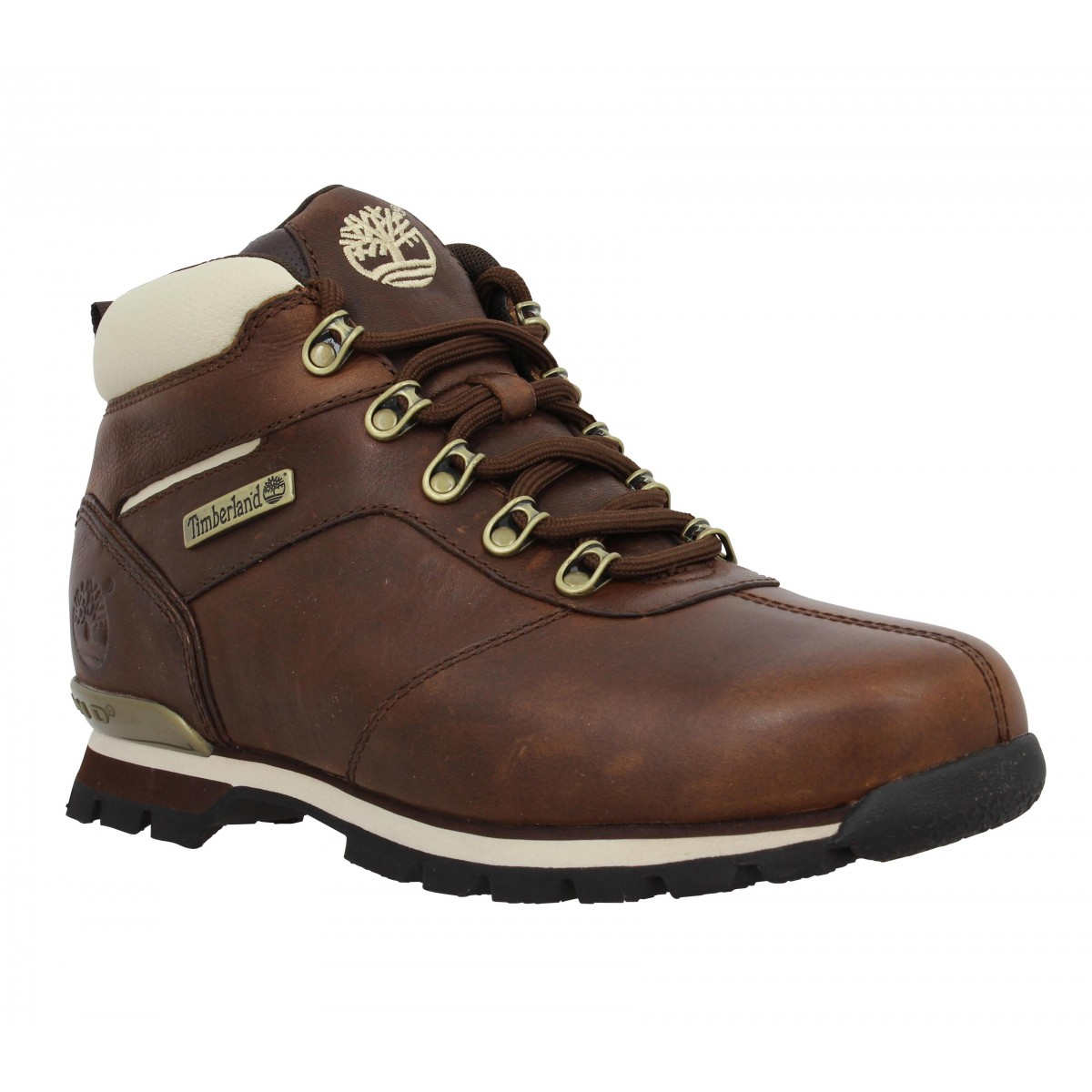 Bottines TIMBERLAND Splitrock 2 Hiker cuir Homme Chocolat