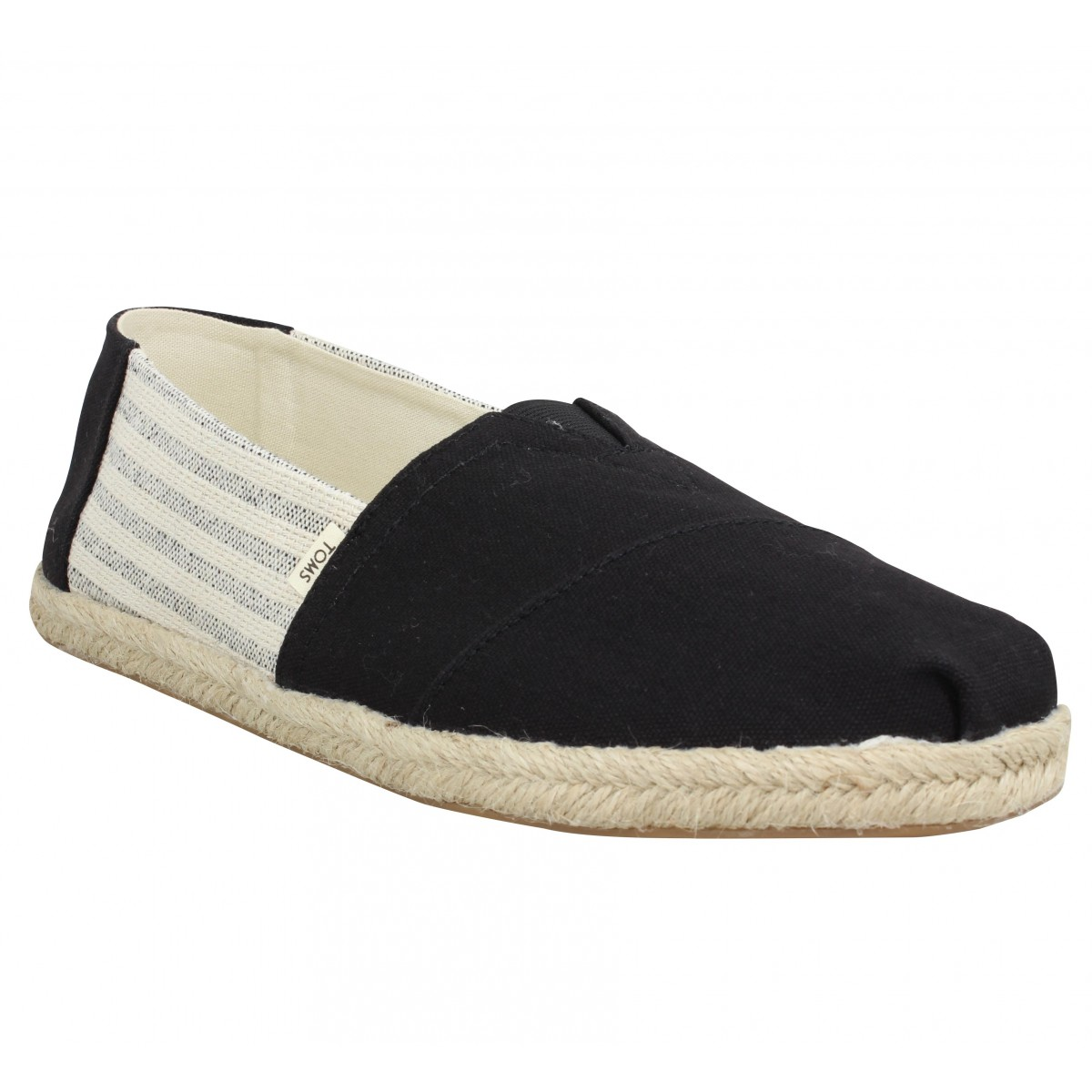 Toms Marque Classic Toile Homme-44-black...