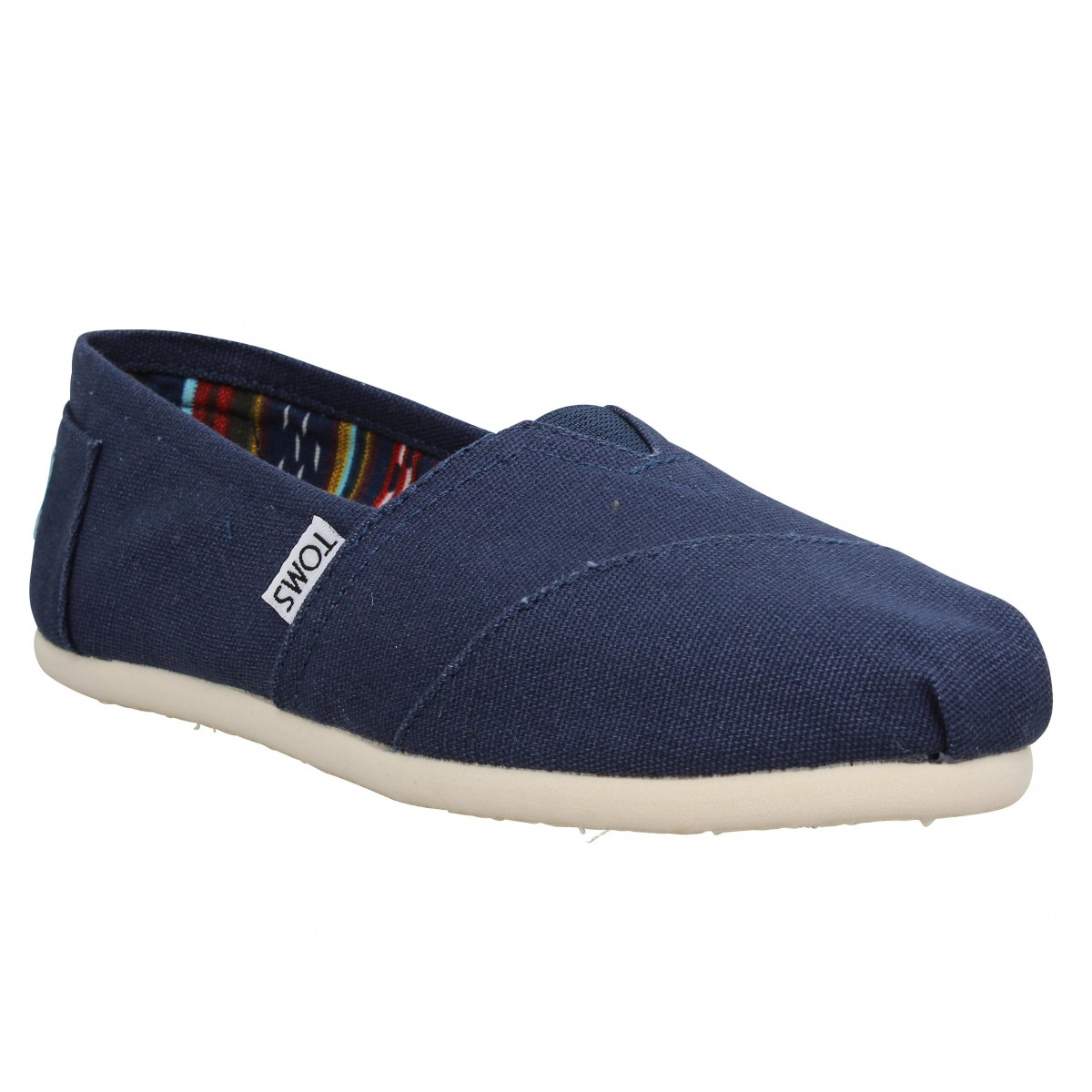 Espadrilles TOMS Classic toile Homme Navy