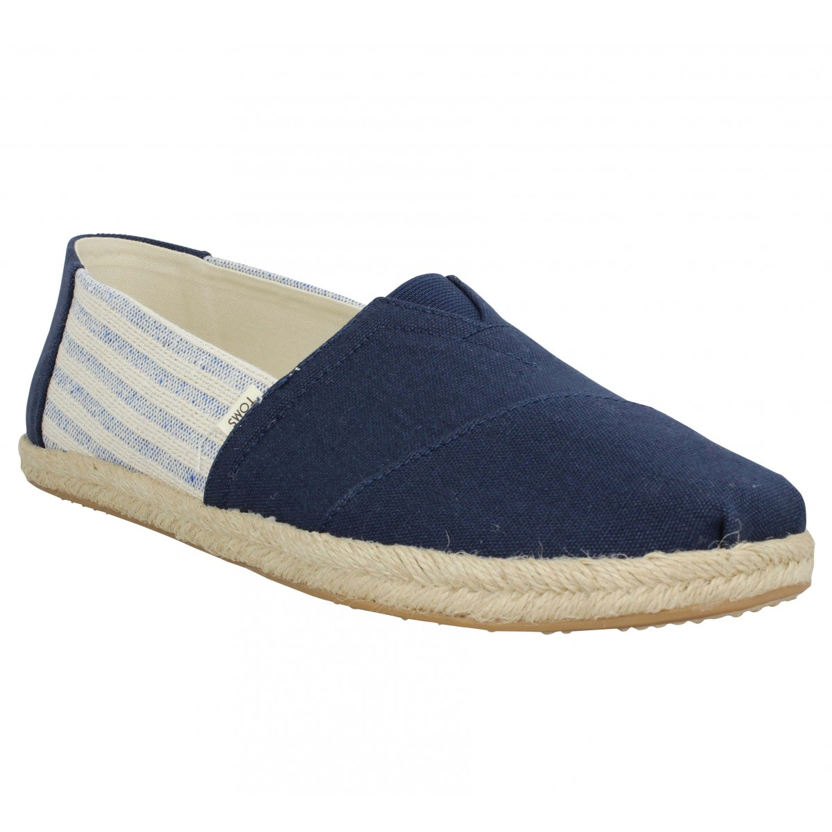 Toms Marque Classic Toile Homme-43-navy...