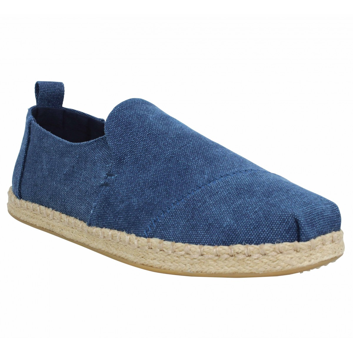 Espadrilles TOMS Deconstructed Alpargata Rope toile Homme Navy
