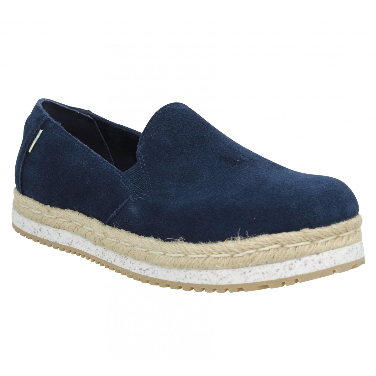 Toms Marque Palma Velours Femme-39-navy