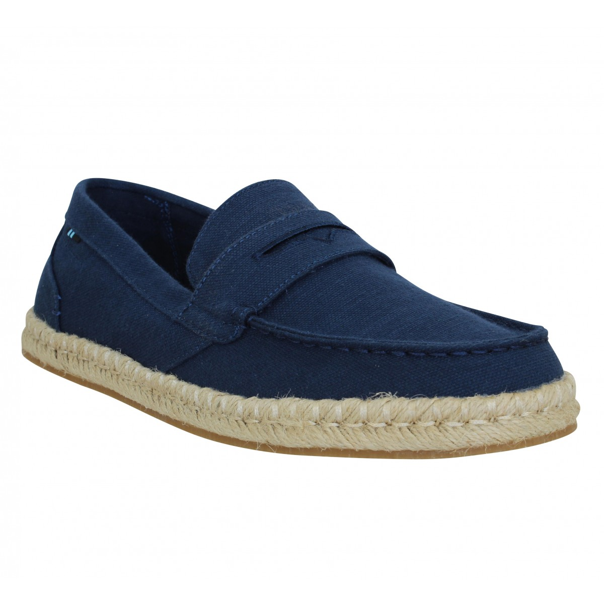 Espadrilles TOMS Stanford toile Homme Navy