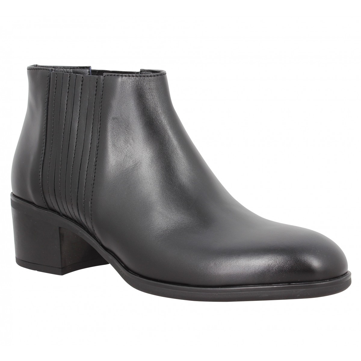 Bottines TRIVER FLIGHT 147 35 cuir Noir
