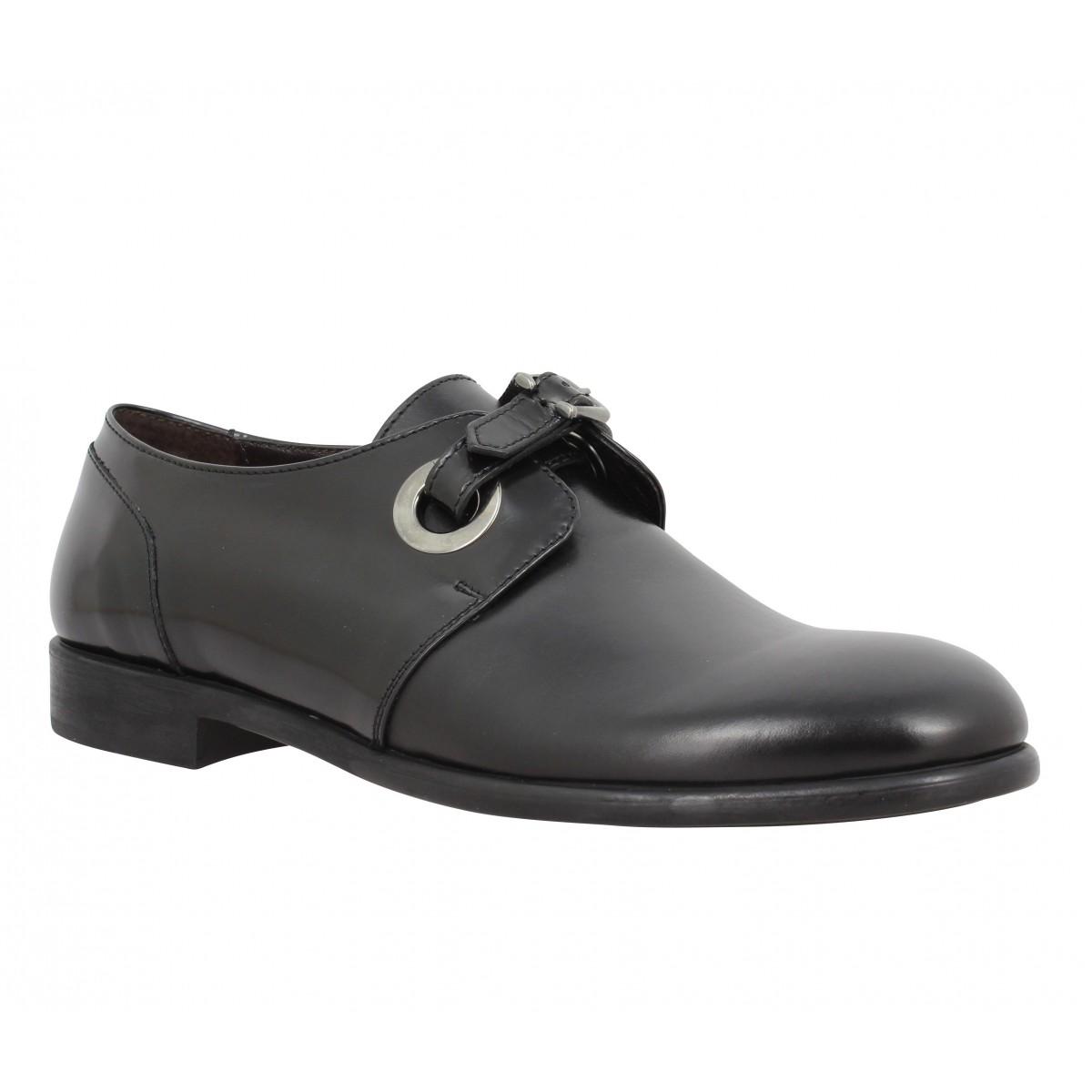 Chaussures à lacets TRIVER FLIGHT 165 04 cuir Femme Noir