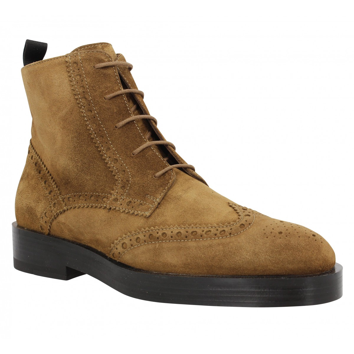 Bottines TRIVER FLIGHT 188 16 velours Marron