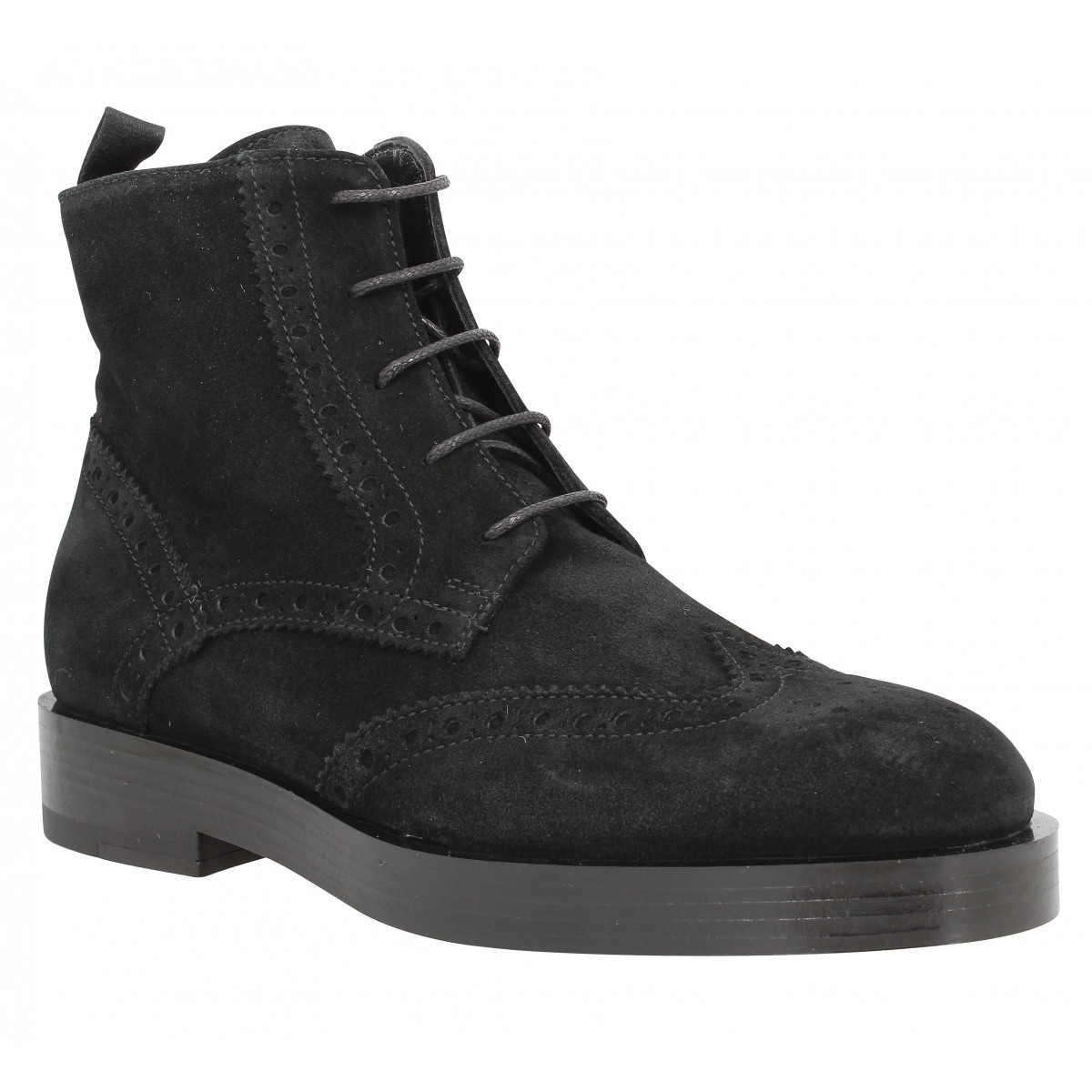 Bottines TRIVER FLIGHT 188 16 velours Noir