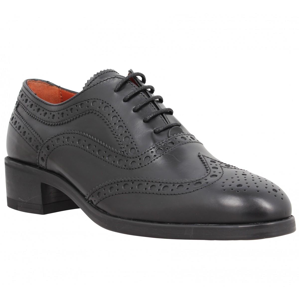 Chaussures à lacets TRIVER FLIGHT 220 14 cuir Femme Noir