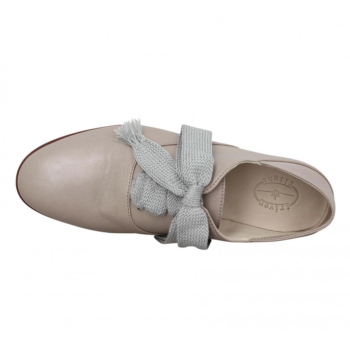 triver flight 2251 cuir femme perle femme fanny chaussures. Black Bedroom Furniture Sets. Home Design Ideas