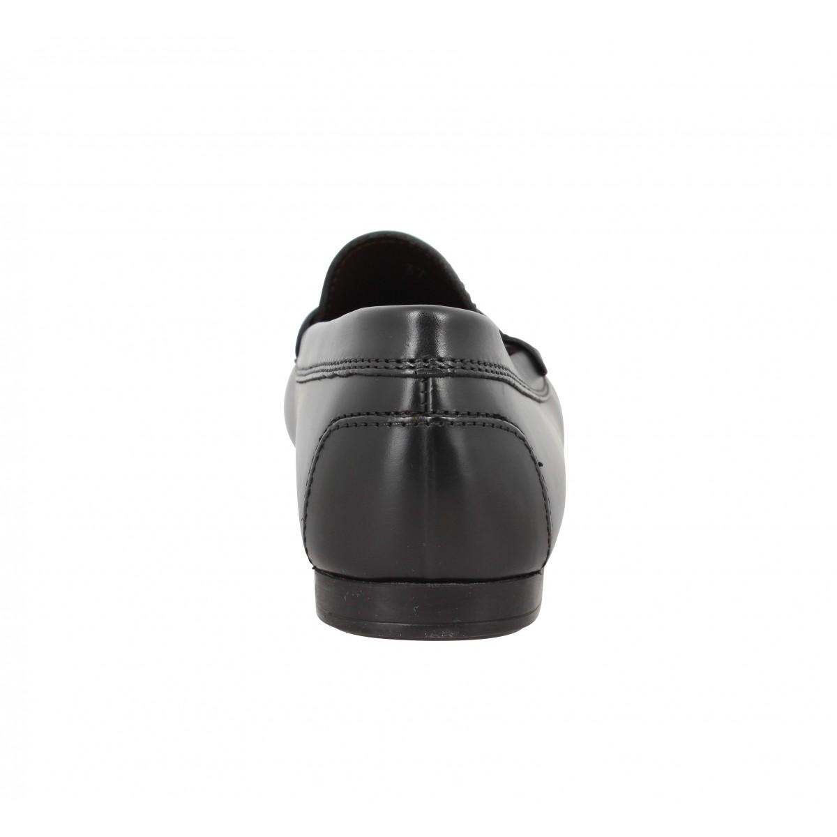Triver flight 646 01 cuir femme noir | Fanny chaussures