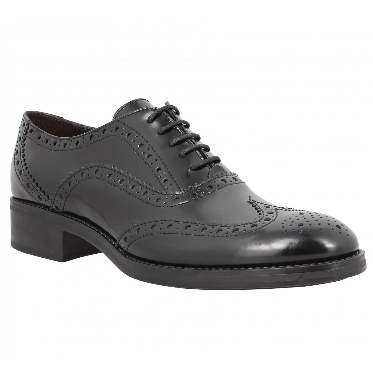 Chaussures à lacets TRIVER FLIGHT 920 09 cuir Noir