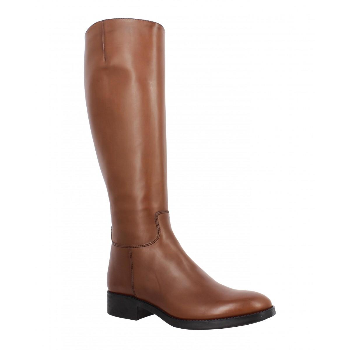 cuir 22 femme flight cognac chaussures Triver 920 Fanny qtwZCH
