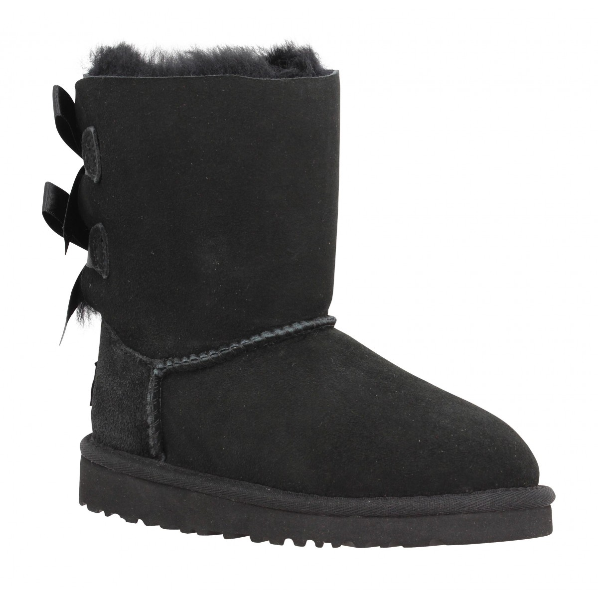 Bottines UGG AUSTRALIA Bailey Bow velours Enfant Noir