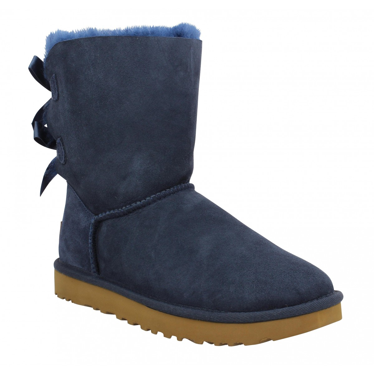 Bottes UGG AUSTRALIA Bailey Bow velours Navy