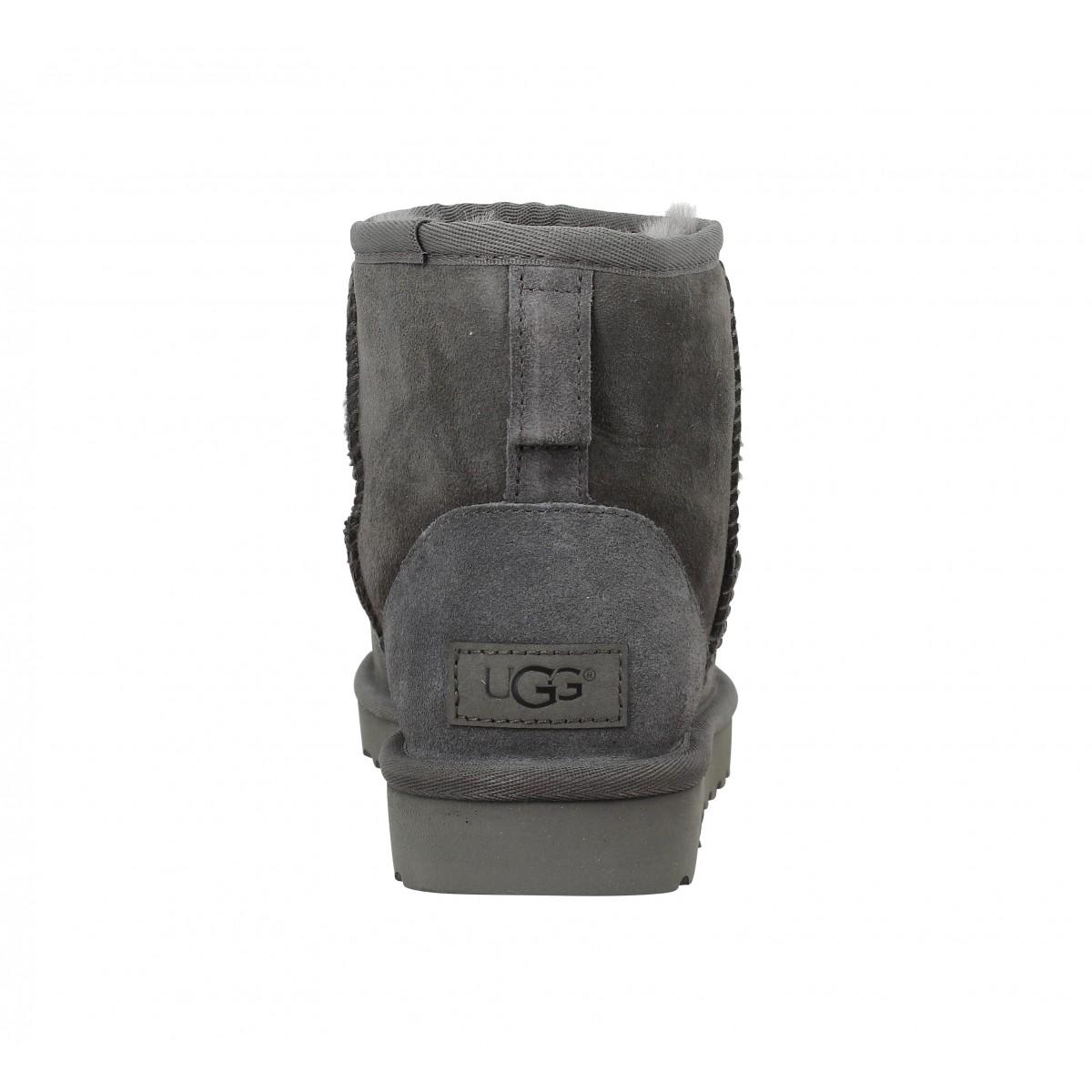 ugg classic mini gris