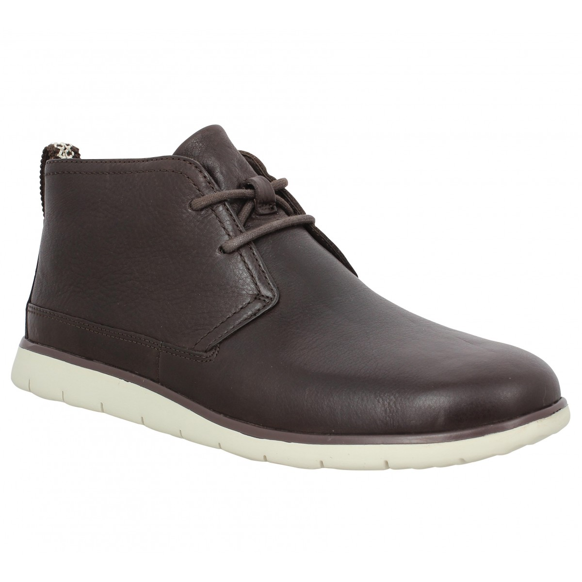 Bottines UGG AUSTRALIA Freamon cuir Marron