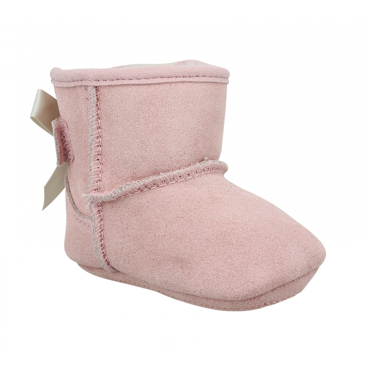 Bottines UGG AUSTRALIA Jess Bow velours Enfant Pink