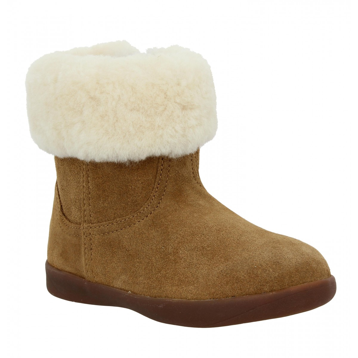 Bottines UGG AUSTRALIA Jorie II velours Enfant Chestnut