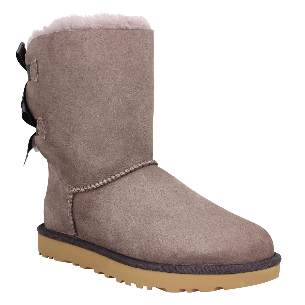 Bottes UGG Bailey Bow velours Sygrey